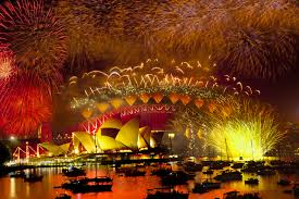 Sydney, Australia on New Year's Eve