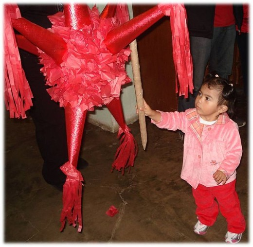 This could have been one of our pinatas.  We got rather creative before they became popular and inexpensive to buy