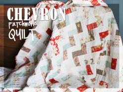 Chevron Patchwork Quilt