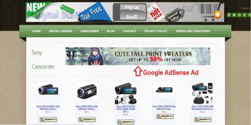 Live Google AdSense Ad