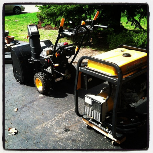 Snowblowers and portable generators are two of the most useful pieces of equipment you can own in the country