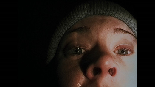 The Famous Still from the Blair Witch Project.