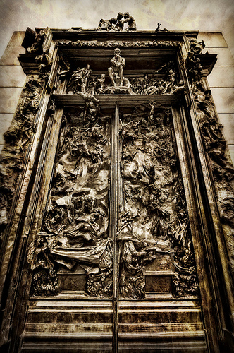 Dante's gates of Hell from Christian Ortiz flickr.com