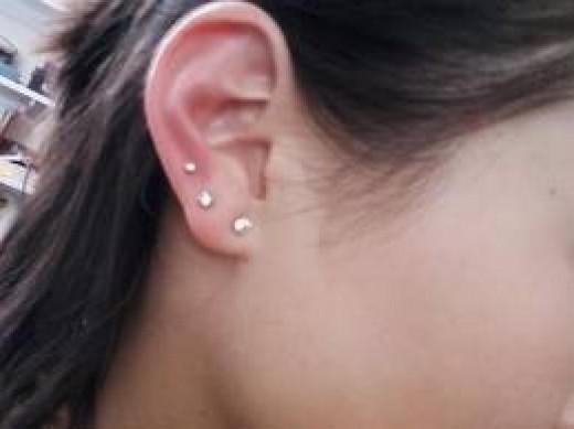 tipy-pirsinga - Виды пирсинга уха и стилей -  - фото