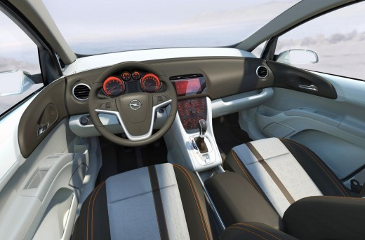 In the EU, this Opel interior is much less likely to tote a huge sugary soda-pop, or get grease stains that leaked through a paper bag of french-fries.