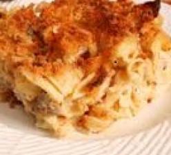 Tuna Noodle Dorito Casserole