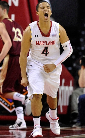 Maryland sophomore point guard Seth Allen