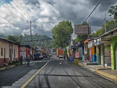 A town in El Salvador