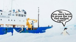 Freezing Cold Weather and Expanding Antarctic Ice are just more proof of Global Warming
