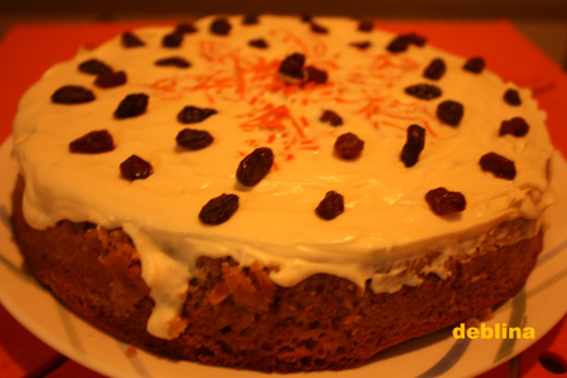 Your Nutty Coconut Carrot Cake with Cream Cheese Frosting