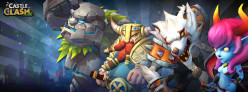 Castle Clash (Mobile Strategy Game) Heroes, Troops, Buildings, Gems & Shards