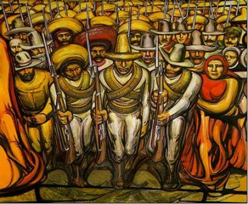 El Anahuac Mural Diego Rivera