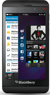 BlackBerry Z10-A revolution