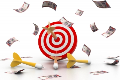 Hit your financial target this year by setting goals along the way.