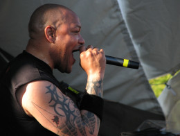 Howard Jones, former singer of Killswitch Engage.