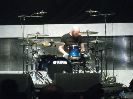 Justin Foley, the drummer of Killswitch Engage.