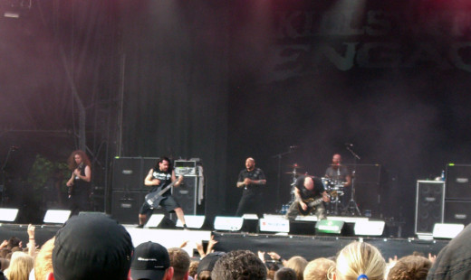 The band Killswitch Engage.