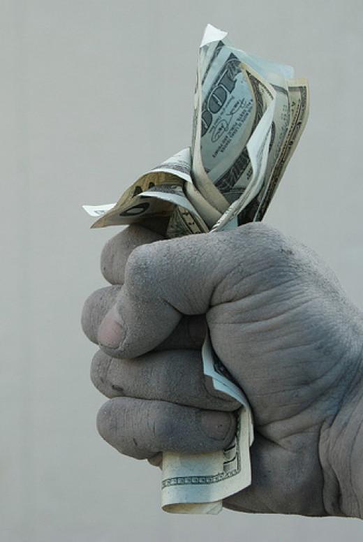 Dirty Money from Gene Anston flickr.com