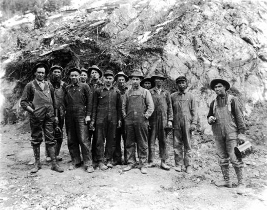 Ouray Miners 1880-1900