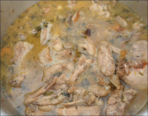 Chicken soup will help increase sodium levels