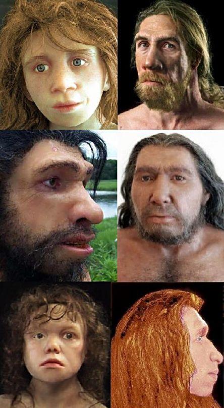 Neanderthal people