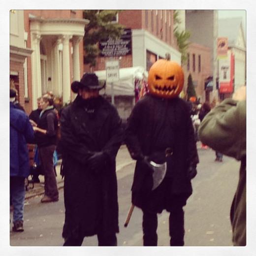 Halloween 2013 (the pumpkin is real)