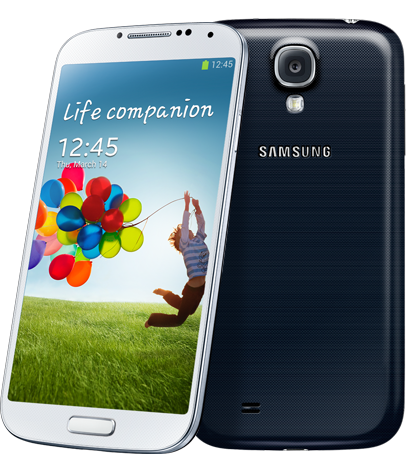 The Samsung Galaxy S4: My smartphone of choice for now.