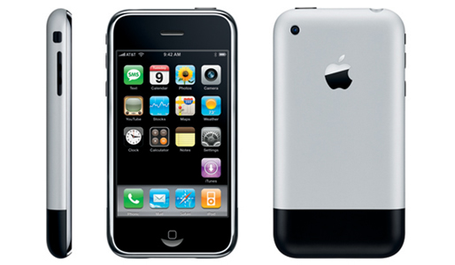 The Apple iPhone: arguably the device that kick-started the revolution