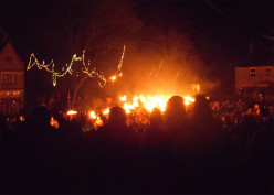 The Tar Barrels of Allendale: A Spectacular Way to See In the New Year