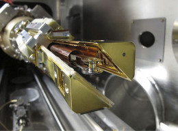 NIF cryogenic target positioning device, a device that will soon be hotter than the core of the Sun