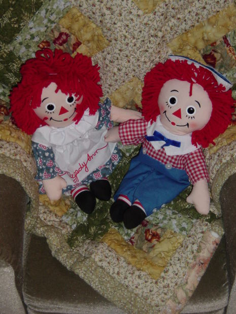 Funny to think that a seemingly harmless Raggedy Ann doll became such a scary entity in the case of Annabelle the doll!