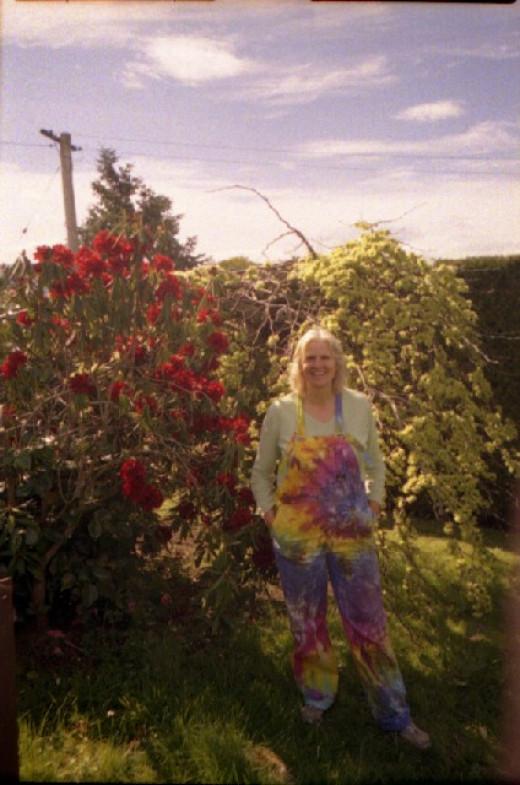 My hippy overalls.