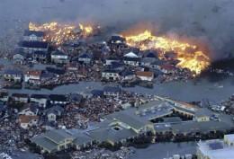 Japan's Earthquake and Tsunami devestation.