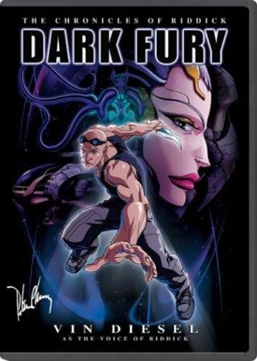 Of all three, my favorite is Dark Fury.  It is the only animation made and produced to be true Anime' and runs like a mini-movie.  A RIDDICK, mini-movie.