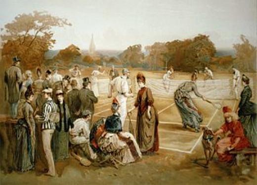 Lawn Tennis, 1887