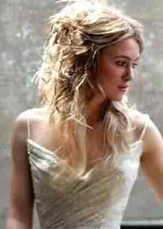 Kiera Knightley... dressed as a bride