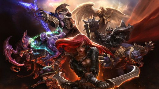 League of Legends, copyright Riot Games, Inc.