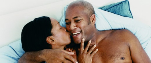 A mature African American Couple