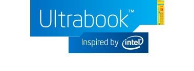 The Ultrabook logo present on most Ultrabooks