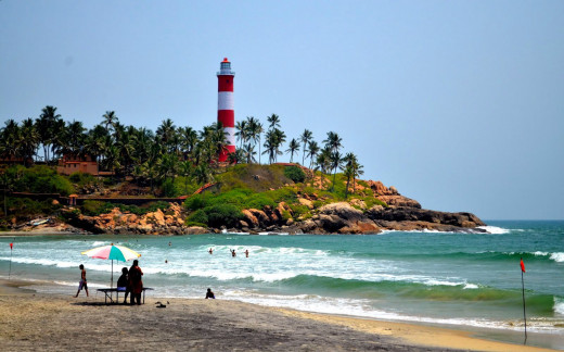 The Kovalam Lighthouse, An Important Landmark.