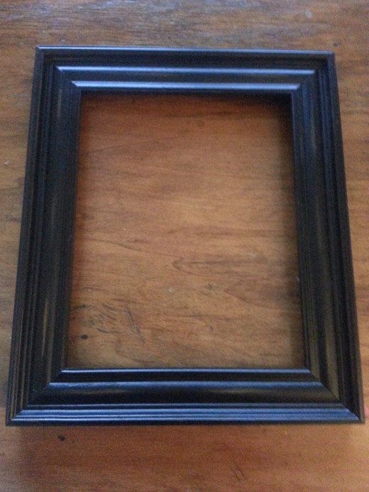 how to make picture frames out of old wood