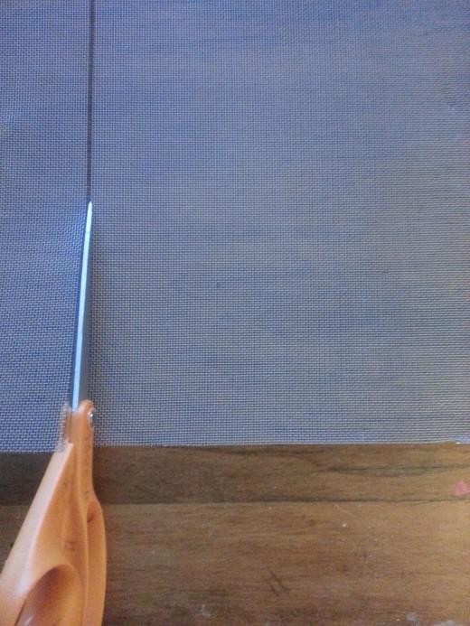 Cutting Screen