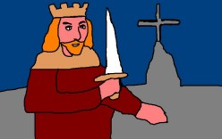 Whether or not the real Arthur was a king we would recognize as such is debatable.