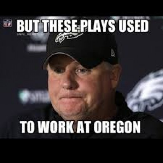 Eagles Coach Chip Kelly looked like a rookie in his first playoff game