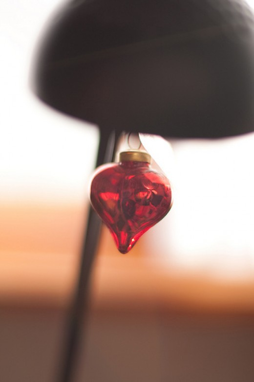 Heart-shaped ornaments or fairy lights can add atmosphere to your Valentine's Day Gathering.