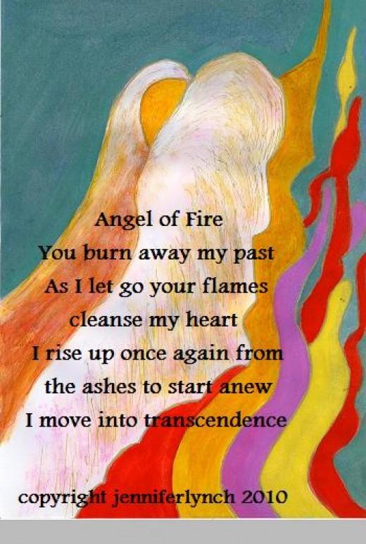 Angel of Fire copyright Jennifer Lynch 2012