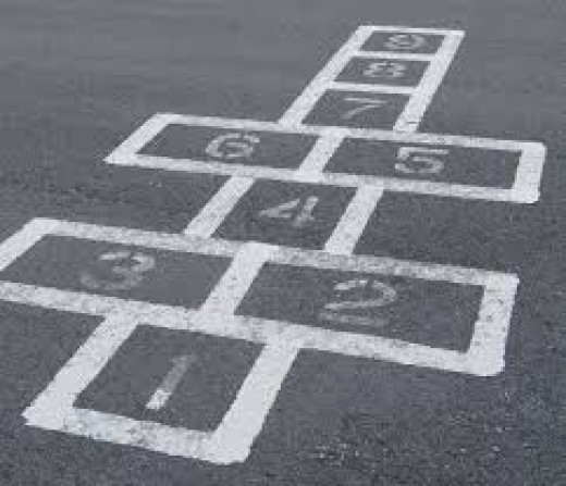 Hopscotch is a fun game for kids to play