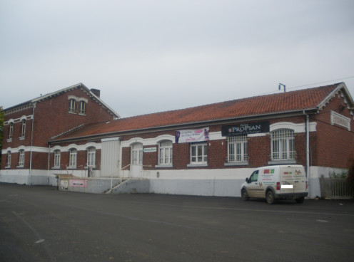 Former passenger building of Steenwerck Railroad Station