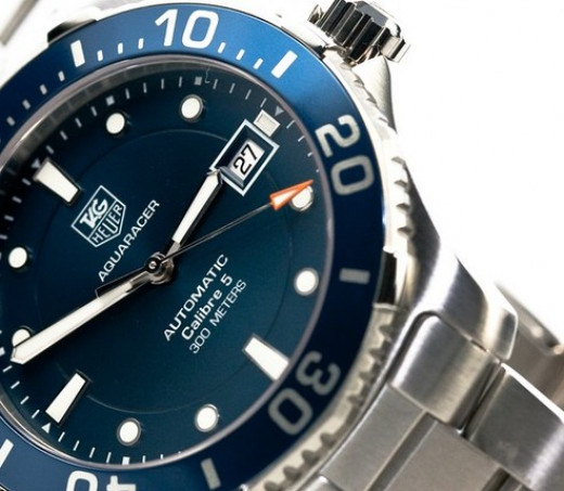 Tag Heuer's Aquaracer is stunning and one of the several prized watches in my small personal collection.