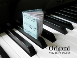 Fun With Paper Folding and Origami - How to Make Origami Miniature Books